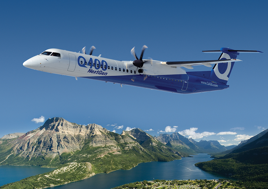 GKN Aerospace has succesfully obtained an EASA STC for the ADS-B Out modification on the Bombardier Dash 8 Q400