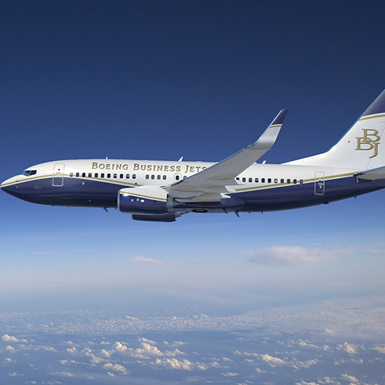 GKN Aerospace and Boeing Business Jets sign contract for completion of the 737 Boeing Business Jet for the Dutch government