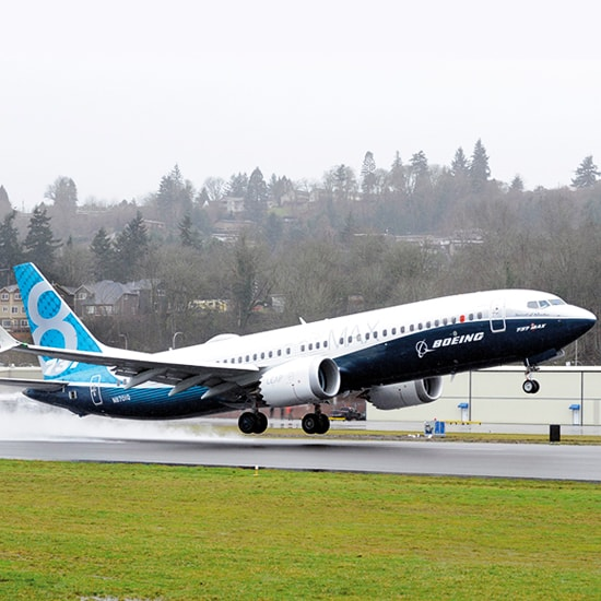GKN Aerospace congratulates Boeing on the 737 MAX first flight