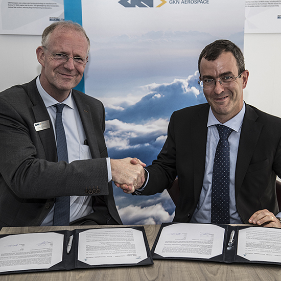 Solvay and GKN Aerospace team up to accelerate the adoption of thermoplastic composite materials on aircraft