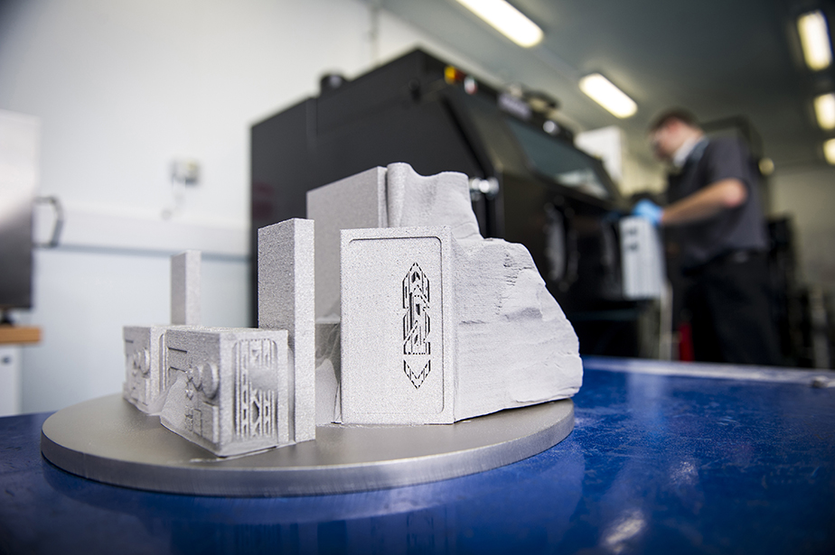 Additive Manufacturing at GKN's facility in Filton, UK