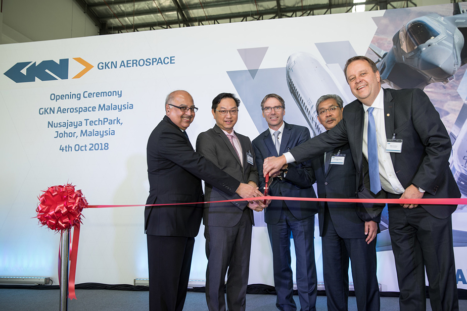GKN Aerospace officially opens state of the art aero-engine repair facility in Malaysia