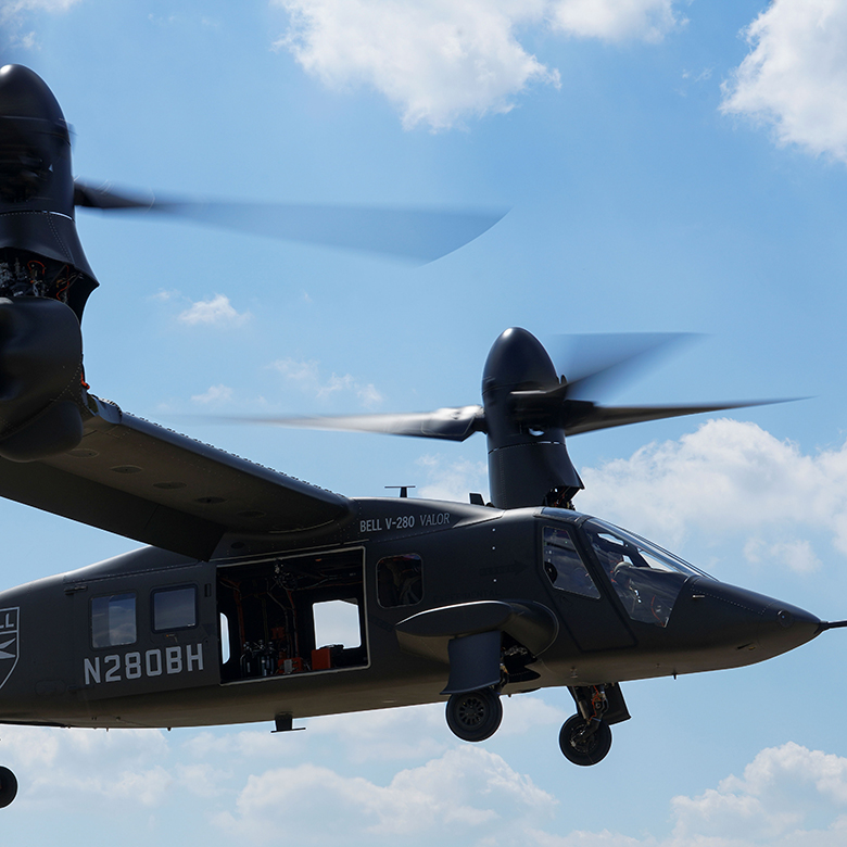 GKN Aerospace delivers thermoplastic composite components for Bell V-280 Valor