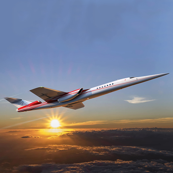 Aerion Supersonic Selects GKN Aerospace as a Global Design and Manufacturing Partner