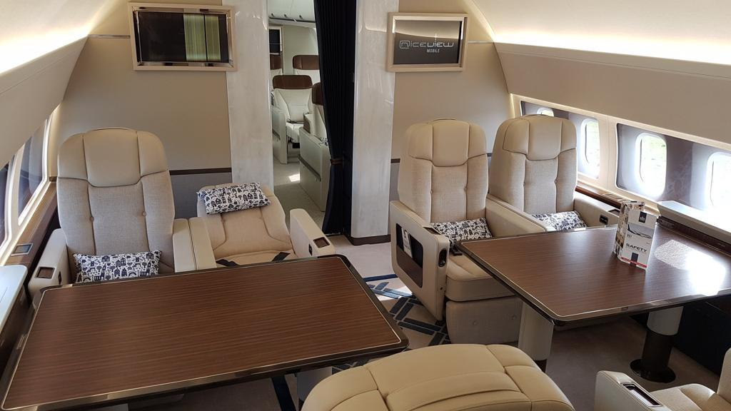 New Dutch Government aircraft presented to the media and the