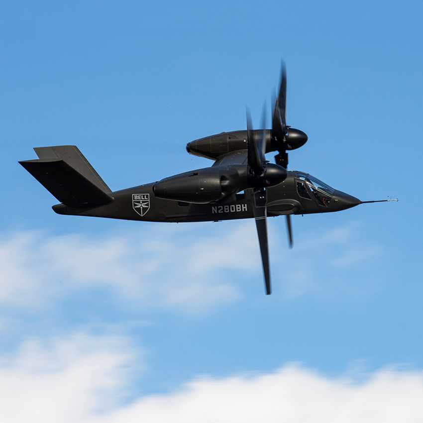 GKN Aerospace's thermoplastic components flight tested on Bell V-280 Valor