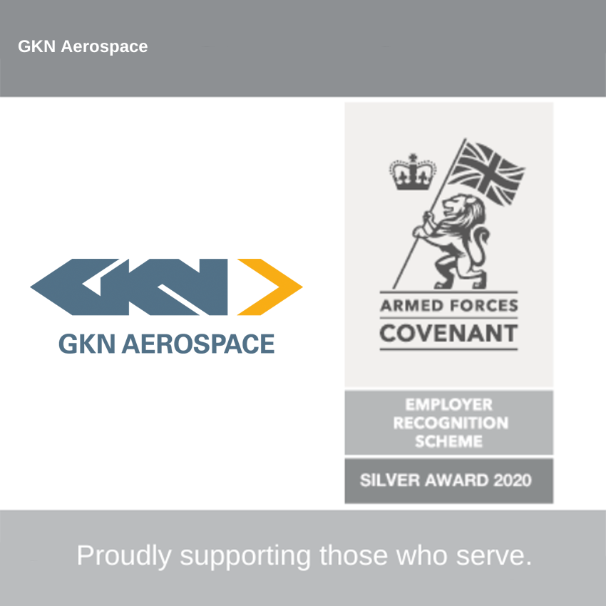 GKN Aerospace receives award for support to UK Armed Forces
