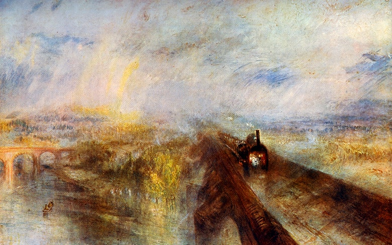 Rain, Steam and Speed – the Great Western Railway, by JMW Turner, 1844