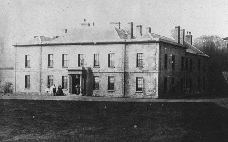 Dowlais House one time home to John and Lady Charlotte Guest C1860